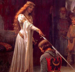 queen guinevere, king arthur, lancelot