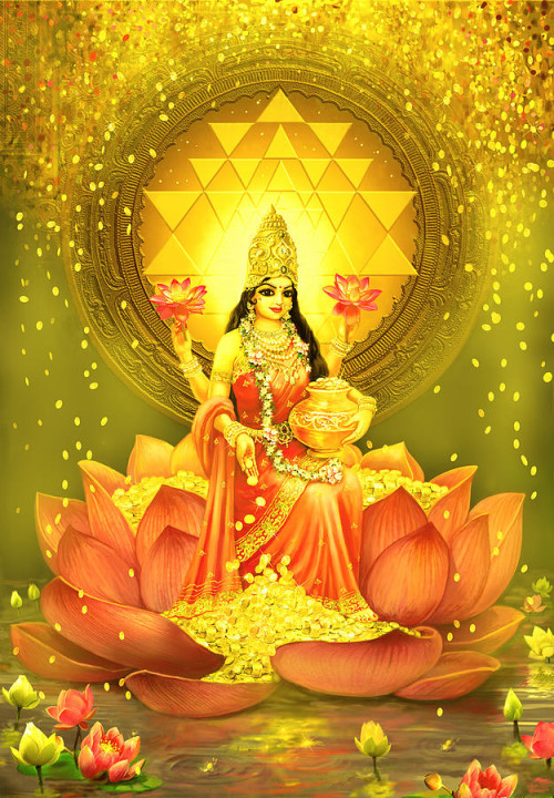 Mahalakshmi-Goddess-of-wealth